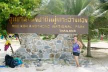 Koh Angthong Nat'l Park, off the coast of Koh Samui, Thailand