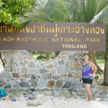 Koh Angthong Nat'l Park, off the coast of Koh Samui, Thailand
