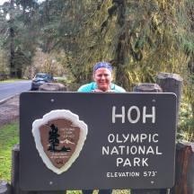 Olympic National Park, Oregon, USA
