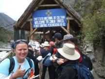 Start of the Inca Trail, Peru, South America