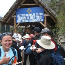 Start of the Inca Trail, Peru, South America