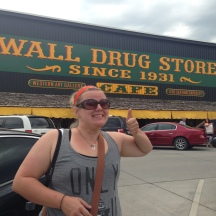 "The famous ""Wall Drug Store"" in BumbleF, USA"